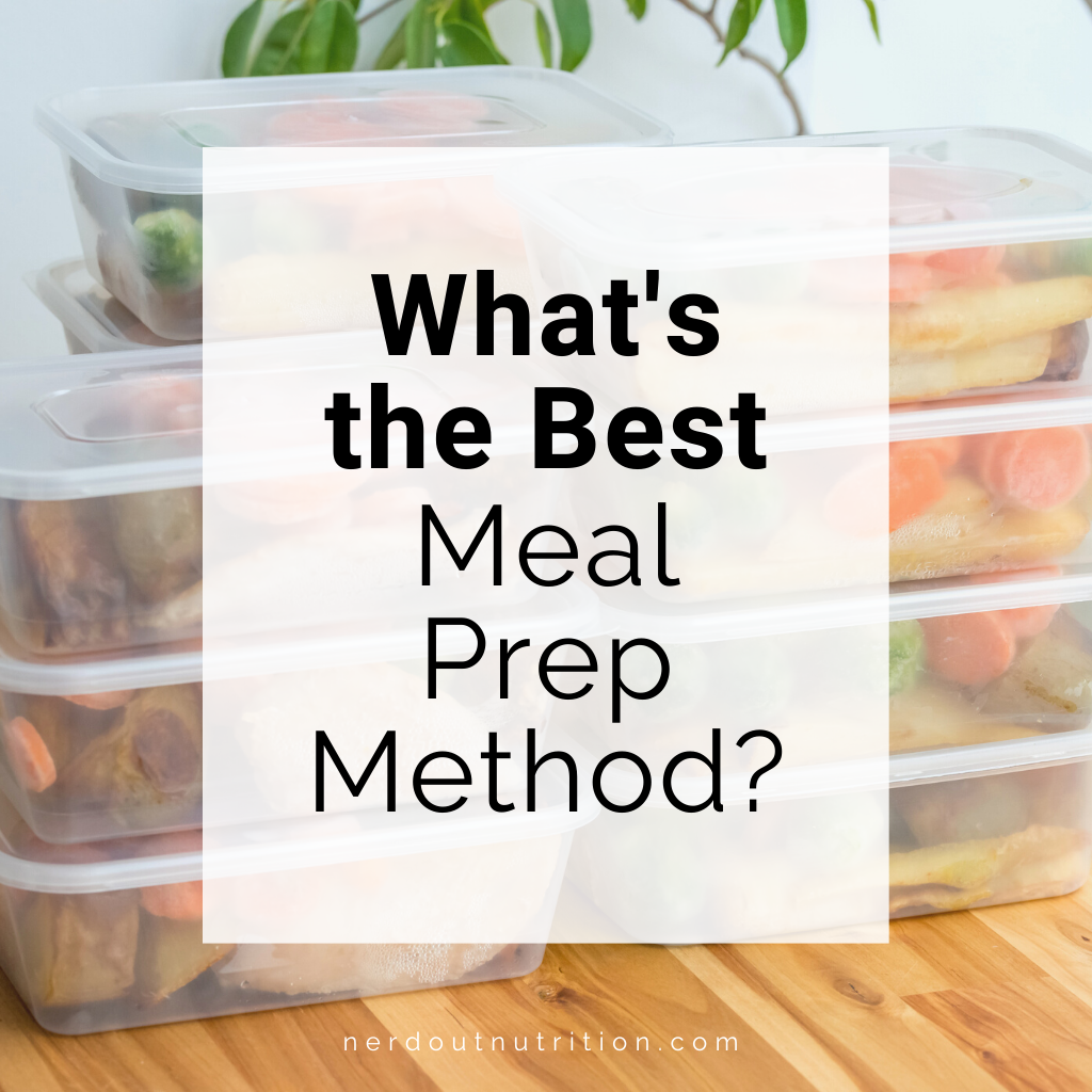 What's the Best Meal Prep Method?