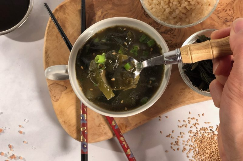 Korean Inspired Birthday Seaweed Soup