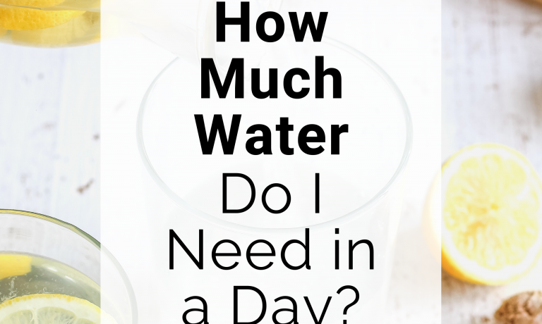How Much Water Do I Need in a Day