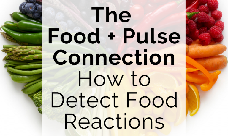 The Food Pulse Connection How to Detect Food Reactions